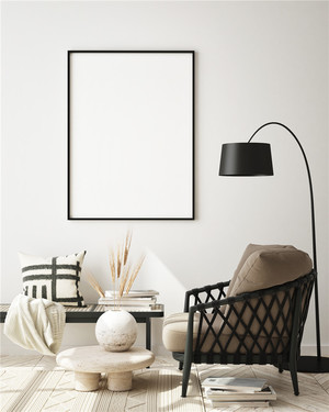 客厅简单大方装修效果图片