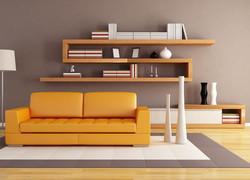 輕奢客廳沙發背景墻裝修效果圖