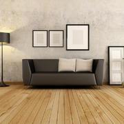 客厅朴素背景墙110平米装修