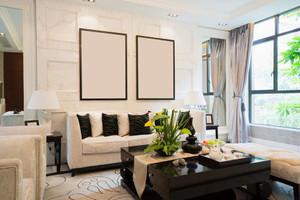 客厅新中式装修效果图欣赏