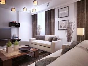 韩式客厅装修效果图欣赏