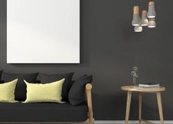 宜家簡約風格裝修客廳圖片