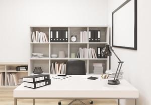 韓式書房裝修效果圖片