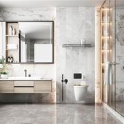 衛生間北歐隔斷三居室裝修