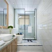 衛生間現代地面70平米裝修
