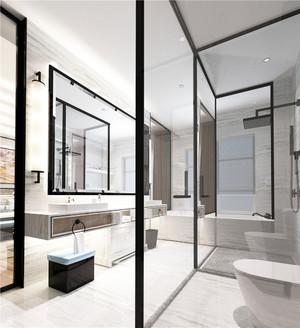 现代卫生间浴房装修效果图