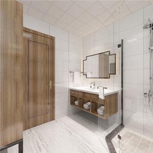 现代卫生间镜柜效果图
