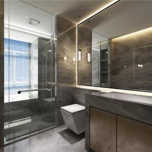 卫生间洗脸盆柜组合效果图片