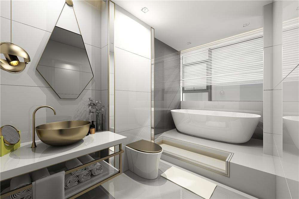 北欧浴室柜装修效果图