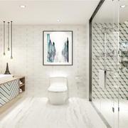 衛生間現代瓷磚大戶型裝修