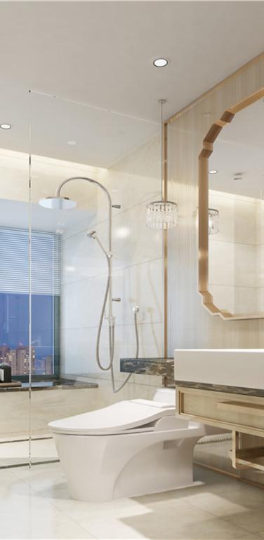 后现代卫生间装修风格效果图