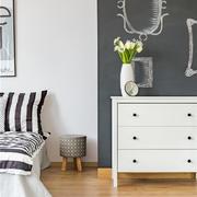 卧室简约墙面小户型装修