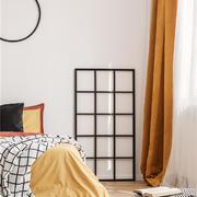 卧室清新窗帘错层装修