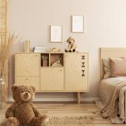 卧室现代床头柜大户型装修