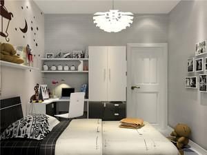 男生臥室簡約風格裝修效果圖
