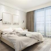 臥室簡約背景墻110平米裝修