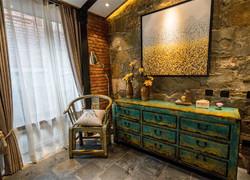 美式鄉村田園風格裝修圖片臥室