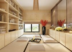 日式風格書房裝修效果圖片