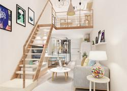 日式風格樓梯裝修效果圖欣賞