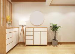 日式裝修風格樣板房圖片欣賞