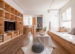 別墅日式風格客廳裝修效果圖