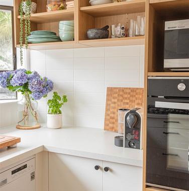 小户型现代简约风格小清新厨房效果图