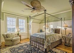 120平米田園風格臥室家具裝飾圖片