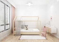 120平米鄉村兒童房家具裝修效果圖
