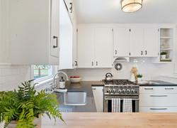 120平小清新風格廚房設計圖片