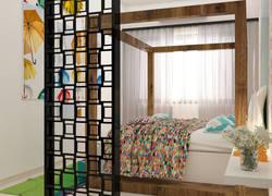 100平米混搭風格臥室家具裝飾效果圖