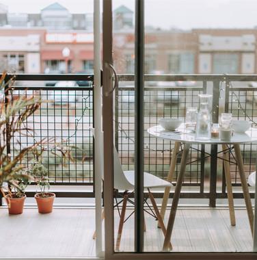 110平米现代风格阳台装饰设计效果图