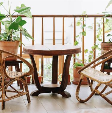 90平米自然风格阳台家具装修效果图