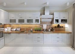 80平現代簡約風格廚房設計圖片
