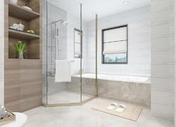 別墅現代風格衛生間設計圖片