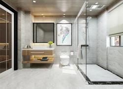 別墅現代風格衛生間裝修效果圖