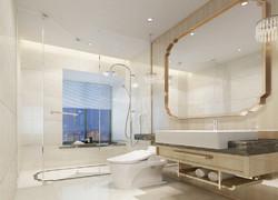 別墅現代簡約風格衛生間裝修圖片