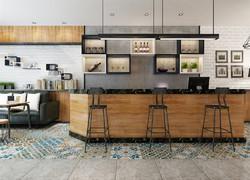 現代風格廚房吧臺設計圖片