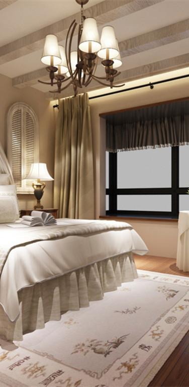 大户型欧式卧室家具装修设计效果图