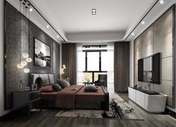 兩居室北歐風臥室裝修設計效果圖