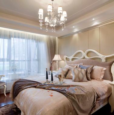 120平米欧式风格卧室家具设计图