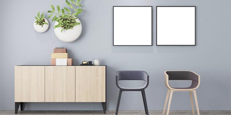 100平米两居室欧式客厅家具设计图