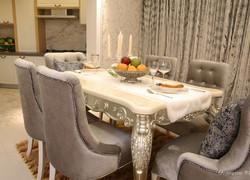 三居室歐式風格餐廳裝修設計效果圖