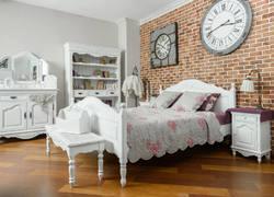 80平米現代輕奢風臥室家具裝修設計
