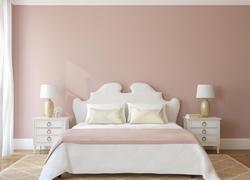 100平米簡歐風格臥室家具裝飾圖