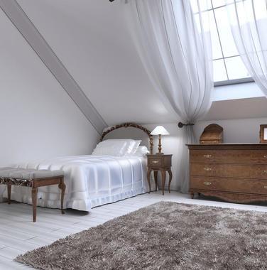 120平米复古风格阁楼装修设计图