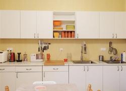 110平現代風格廚房裝修設計圖片