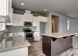 120平現代風格廚房裝修設計圖片