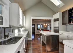 一樓別墅混搭風格廚房設計圖片