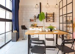 大平層簡歐風格書房設計圖片