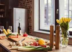 80平現代簡約風格廚房設計裝修效果圖